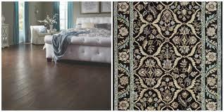 Cordova Cherry Laminate Flooring Mannington U0027s Rock Creek Hardwood Flooring With Jaunty Area Rug In