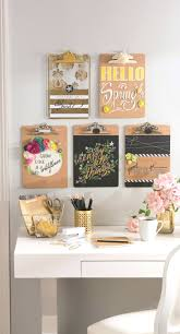 office wall art wall arts office organization ideas diy clipboard wall art wall