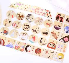 decorative paper japanese decorative paper sticker set fuji kawaii pen shop