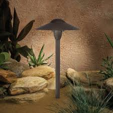 kichler led lights kichler 15410azt one light path u0026 spread landscape path lights