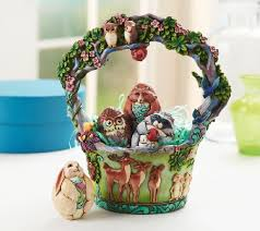 jim shore easter baskets jim shore heartwood creek 11th annual easter basket figurine page