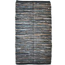 Gray Accent Rug Natural Leather Accent Rug Products Rugs And Natural Leather