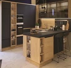 ixina cuisine idée relooking cuisine cuisine nature et équipée clara béton par