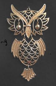 vintage owl pendant necklace images Vintage costume jewelry owl pendants jpg