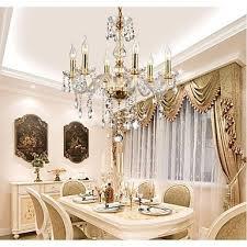 hängelen wohnzimmer kronleuchter kristall led traditionell klassisch wohnzimmer