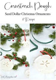 cornstarch dough ornaments and recipe h20bungalow