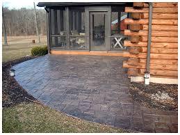 Sted Concrete Patio Design Ideas Sted Concrete Patios Amazing Concrete Patio Designs