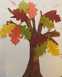 thanksgiving craft for a gratitude tree