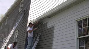 a close up look at painting aluminum siding youtube
