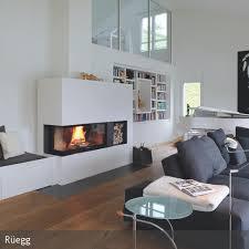 kamin wohnzimmer kaminofen als raumteiler kamin glass