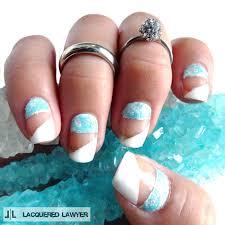 geometric glacier how to paint a geometric nail manicure