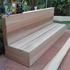 Make Your Own Wood Patio Furniture by Home Dzine Home Diy Diy Wood Patio Furniture