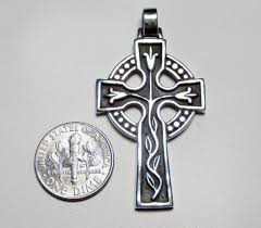 avery crosses retired avery sterling silver ornate celtic cross pendant