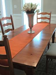 table runners for dining room table orange table runner fall table runner orange burlap runner