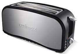 4 Slice Toaster White Cusimax 1300w Long Slot 4 Slice Toaster With Cancel Defrost Reheat