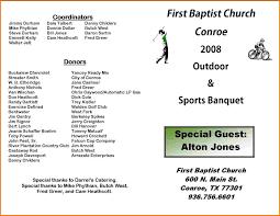 Church Programs Template Sports Program Template Authorization Letter Pdf