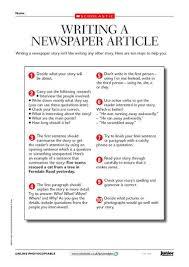 news report template the 25 best school newspaper ideas on newspaper