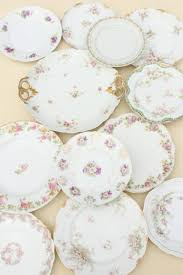 vintage china with pink roses mismatched antique vintage china plates w different patterns