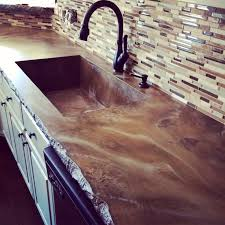 How To Build A Concrete Bar Top 24 Best Countertops Images On Pinterest Counter Tops Concrete