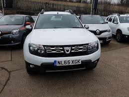 renault duster 2015 interior used dacia duster 1 5 dci 110 laureate 4x2 5dr white for sale in