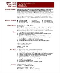 Senior Management Resume Examples by Manager Resume Sample Templates 43 Free Word Pdf Documents