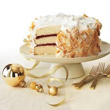 Coconut Cake Recipe Coconut Cake With Raspberry Filling Recipe Myrecipes