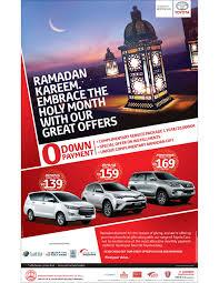 toyota offers ramadan offers from toyota toyota kuwait