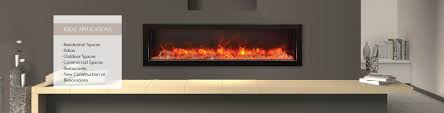 bi 60 deep electric fireplace u2013 indoor outdoor u2013 fireplaces