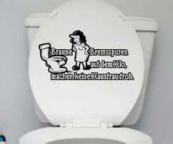 wc sprüche wc deckel aufkleber hausfrau toilette lustig spruch badezimmer bad