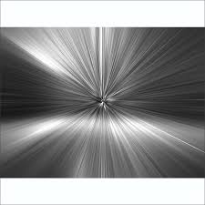 Abstract Wall Mural Geometric Black And White Silver Blast Abstract Wall Mural 315cm