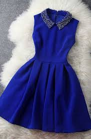 dress blue homecoming dress lace prom dress graduation dress party dress