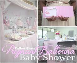ballerina baby shower ideas ballerina baby shower project nursery