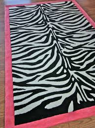 Black And White Modern Rug by Flooring Zebra Print Rug Black And White Zebra Print Rugs