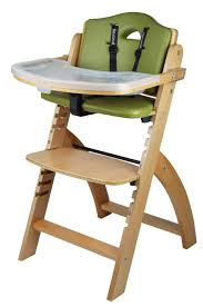 Bye Bye Baby High Chairs Amazon Com Abiie Beyond Wooden High Chair With Tray The Perfect