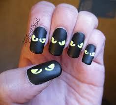 creepy cat eye nail art nailspedia