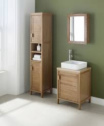 tranquil bathroom ideas green wall color with teak furniture corner units and white