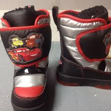 s insulated boots size 9 best toddler boy size 9 winter boots disney cars light up