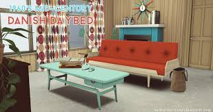1960 u0027s danish mid century daybed by onyx teh sims