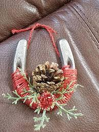 horseshoe christmas ornaments mini horseshoe christmas ornaments handmade
