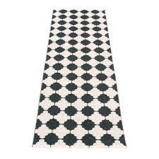 tapis cuisine noir tapis plastique de la marque pappelina modèle marre