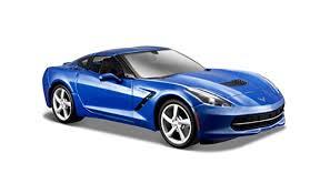 2014 corvette colors amazon com maisto 1 24 scale 2014 corvette stingray coupe diecast