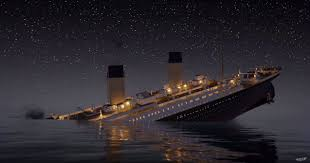 titanic sinks real time is 2 hours 40 minutes of the ship meeting