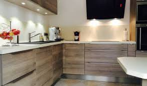 cuisine en bois moderne cuisine bois affordable merveilleux cuisine blanc et bois cuisine