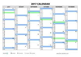 blank calendar templates 2017 printable downloadable yearly saneme