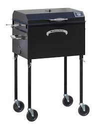 meadow creek charcoal grills with rotating grates