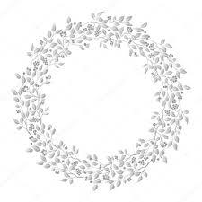 Background Images For Wedding Invitation Cards Circle Cute Hand Drawn Frames On The White Background Love