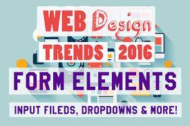 interactive forms web design trends 2016 input fields