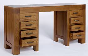 real wood office desk computer writing desk library table solid wood office throughout