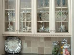 Kitchen Cabinets With Frosted Glass Oak Kitchen Cabinets With Glass Doors U2013 Frequent Flyer Miles