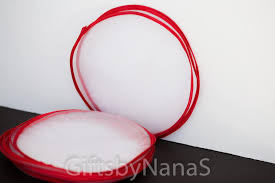 bulk tulle white tulle circle tulle circle party favor decoration